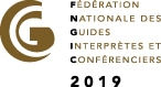 Logo of FNGIC : French National Federation of Guide Interpreters and Speakers to ilustrate the quality of broaden-horizons.fr guided tour offer