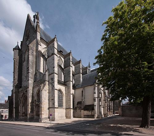 Photo de Notre-Dame-de-Clery-Saint-André dans les environs d'Orléans