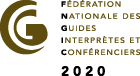 Logo of FNGIC : French National Federation of Guide Interpreters and Speakers to ilustrate the quality of the Orsay Museum Guided Tour