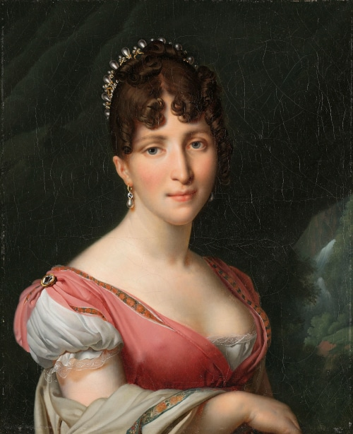 Hortense de Beauharnais portrait to illustrate Napoleon private tour in Paris