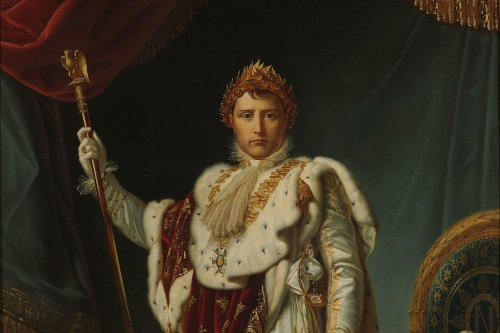 Portrait of Napoleon I to illustrate Napoleon Tour in Paris