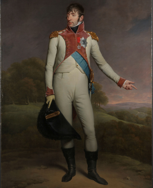 Louis bonaparte portrait to illustrate Napoleon walking tour in Paris